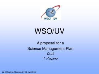 WSO/UV