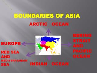 BOUNDARIES OF ASIA
