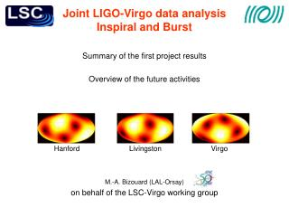 Joint LIGO-Virgo data analysis Inspiral and Burst