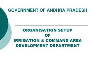 GOVERNMENT OF ANDHRA PRADESH