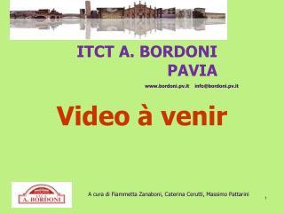 ITCT  A. BORDONI PAVIA