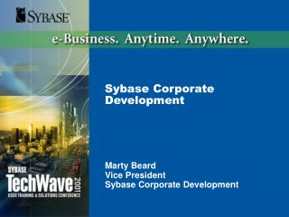 Sybase Corporate Development
