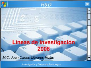 Líneas de Investigación 2008