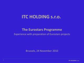 ITC HOLDING s.r.o.