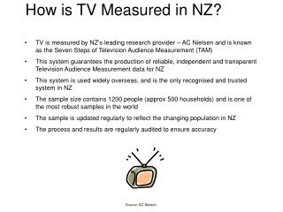 How is TV Measured in NZ?