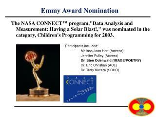 Emmy Award Nomination