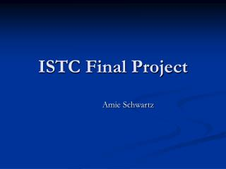 ISTC Final Project