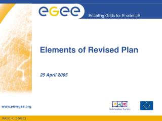 Elements of Revised Plan