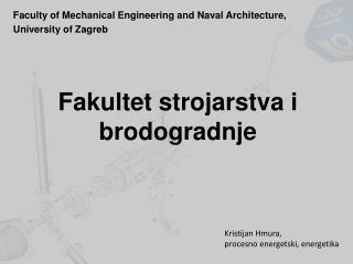 Fakultet strojarstva i brodogradnje