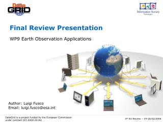 Final Review Presentation