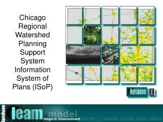 Chicago Regional Watershed Planning Support System Information System of Plans (ISoP)