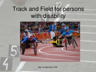 Track and Field for persons with disability