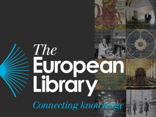 The European Library: future role and services to the research library community