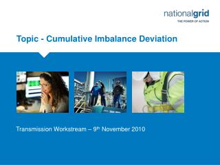 Topic - Cumulative Imbalance Deviation