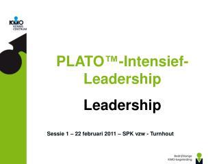Sessie 1 – 22 februari 2011 – SPK vzw - Turnhout