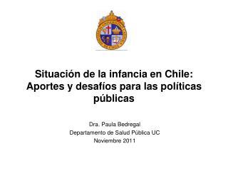 Situación de la infancia en Chile: Aportes y desafíos para las políticas públicas