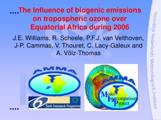 The Influence of biogenic emissions on tropospheric ozone over Equatorial Africa during 2006