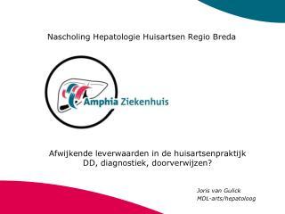 Nascholing Hepatologie Huisartsen Regio Breda