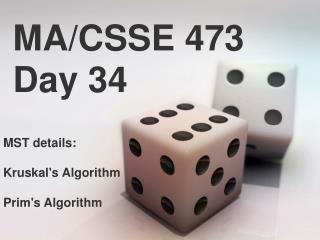MA/CSSE 473 Day  34