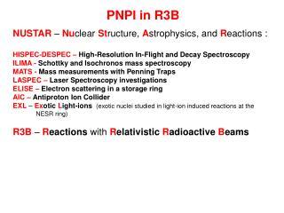 PNPI in R3B