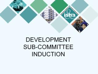 DEVELOPMENT  SUB-COMMITTEE INDUCTION