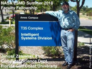 NASA ESMD Summer 2010  Faculty Fellowship