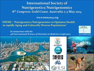 International Society of  Nutrigenetics / Nutrigenomics