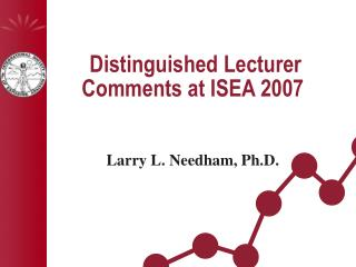 Distinguished Lecturer Comments at ISEA 2007