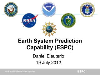 Earth System Prediction Capability (ESPC)