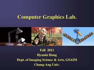 Computer Graphics Lab.