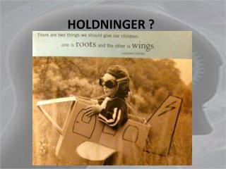 HOLDNINGER ?