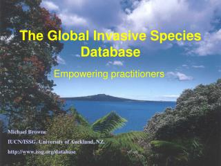 The Global Invasive Species Database