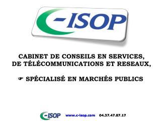 Réalisé par C-ISOP Le 16 décembre 2009