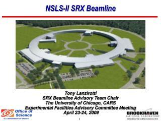 NSLS-II SRX Beamline