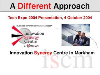 Tech Expo 2004 Presentation, 4 October 2004