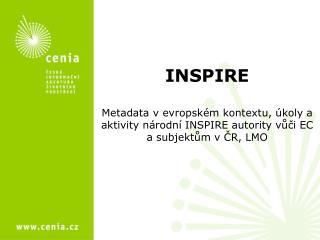 Směrnice INSPIRE