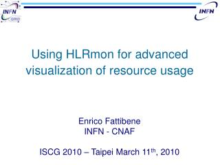 Using HLRmon for advanced visualization of resource usage