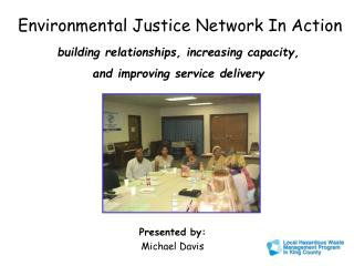 Environmental Justice Network In Action