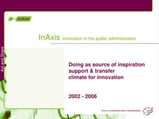 InAxis  innovation in the public administration