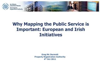 Why Mapping the Public Service is Important: European and Irish Initiatives