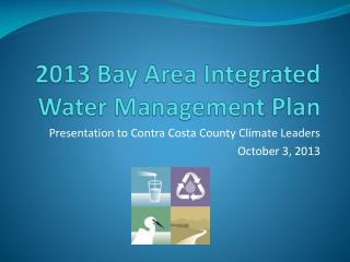 2013 Bay Area Integrated Water Management Plan