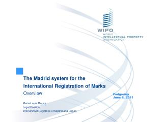 The Madrid system for the International Registration of Marks Overview