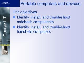 Portable computers and devices