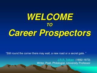 WELCOME TO Career Prospectors