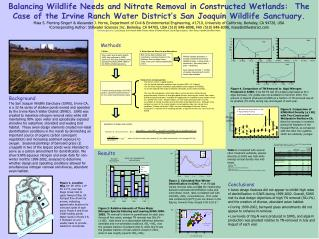 Table 3.  Results from Constructed Wetland Treatment System Bird Surveys.
