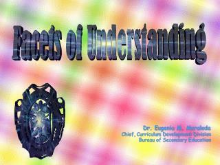 Dr. Eugenia M. Moraleda Chief, Curriculum Development Division Bureau of Secondary Education