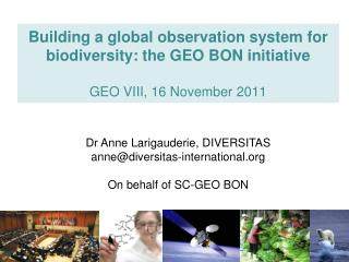 B iodiversity O bservation N etwork