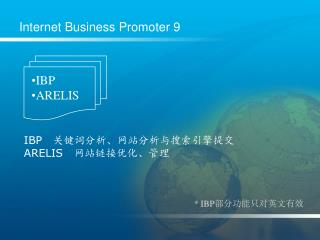 Internet Business Promoter 9