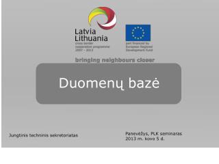 Duomenų bazė