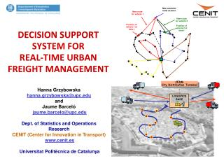 DECISION SUPPORT SYSTEM FOR  REAL-TIME URBAN  FREIGHT MANAGEMENT